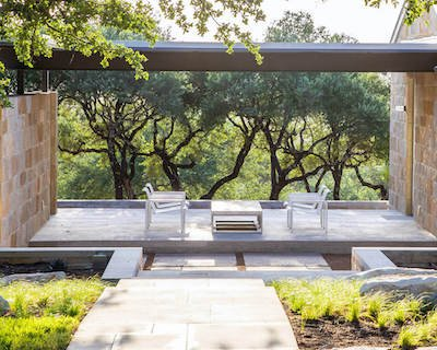 Are you in change of installation on Outdoor Living spaces page
