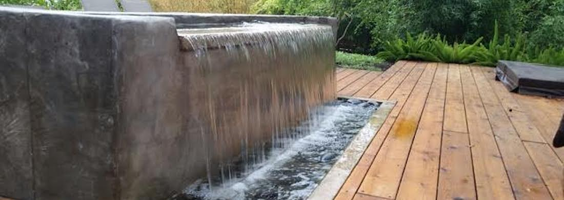 Water feature hero image